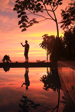 Infinity pool sunsets...